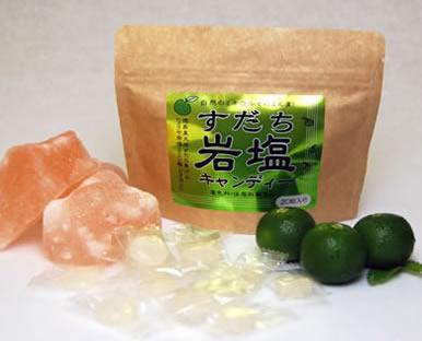 熱中症予防対策・岩塩キャンディーのイメージ写真