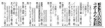 帯広カーリングオープン大会結果(6月4日分)