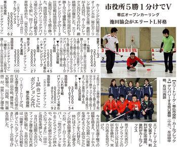第13回帯広カーリングオープン大会