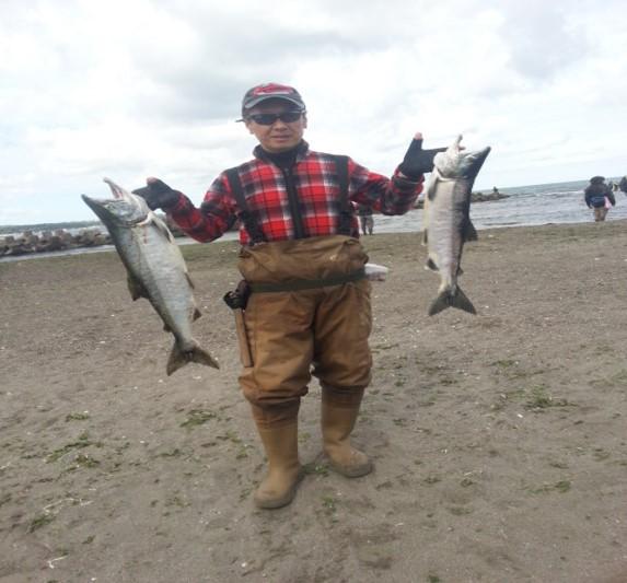 刀禰谷先生趣味釣り
