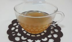 幸福de酢の梅を使った梅酢ジンジャー