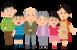 家族遺伝のイメージ