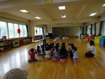 帯広の森幼稚園の食育に行かせて頂きました!