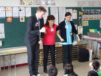 英語と食育のコラボ授業を行ってきました!