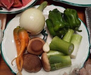 「フェーリエンドルフ」野菜収穫体験の巻き
